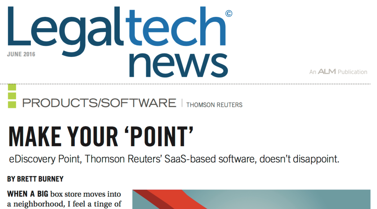 brett burney reviews thomson reuters saas based document review